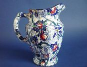 Maling 'Blue Chintz' Ringtons Small Jug c1935